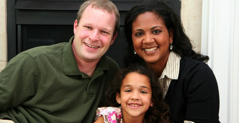 Does an increase in multiracial families equal a decrease in racism? (Photo © Can Stock Photo Inc. / rmarmion)