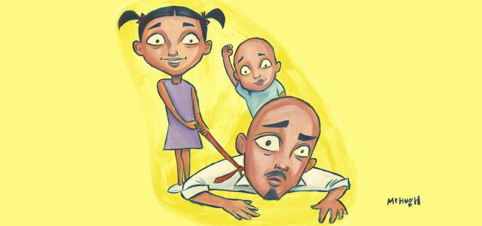 solomon with bay-bays kids 4