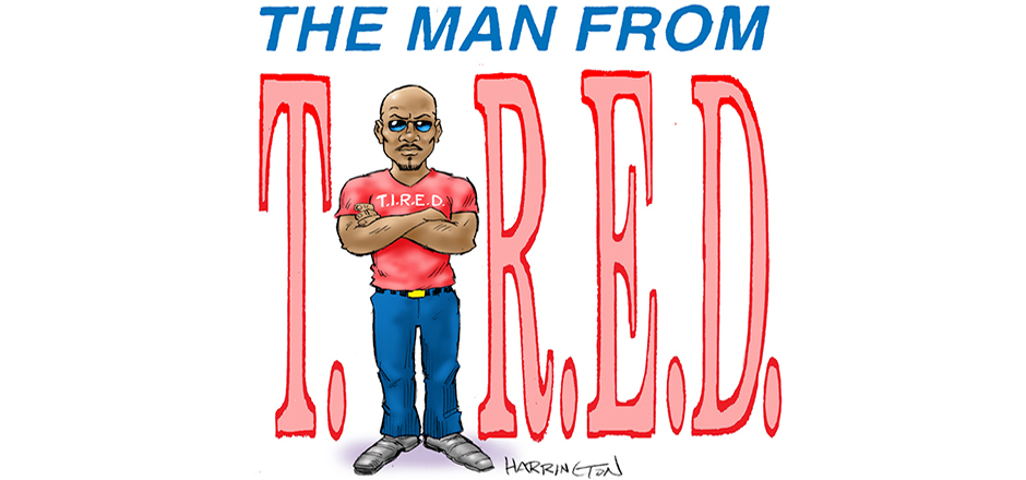 man from tired copy