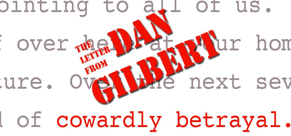 gilbert letter 2