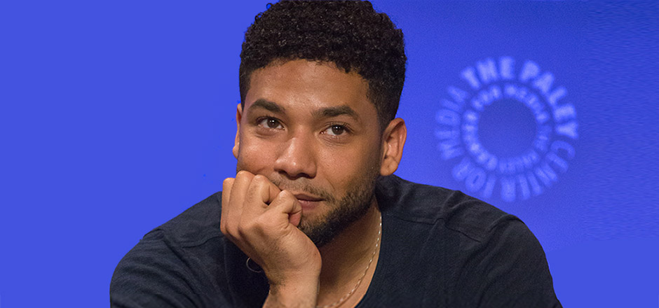 Jussie Smollett at the Paleyfest in Los Angeles in 2016. Photo by Dominic D